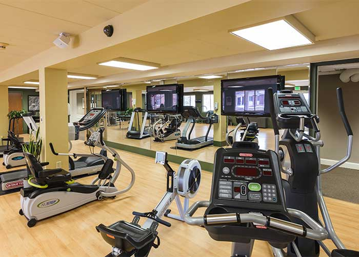 Fitness Equipment at The Towne House
