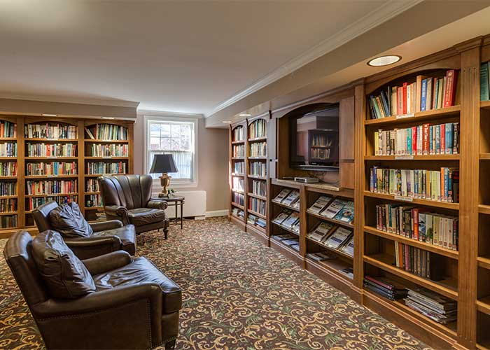 The Library at The Towne House