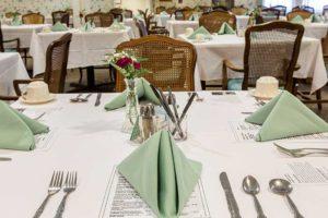 Upscale senior dining