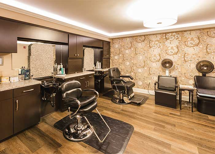 Barber & Beauty Salon at The Towne House