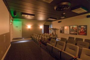 The Towne House Retirement Community Movie Theatre