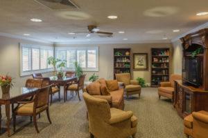 retirement sitting area