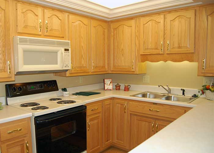 Towne House Apartment Kitchen