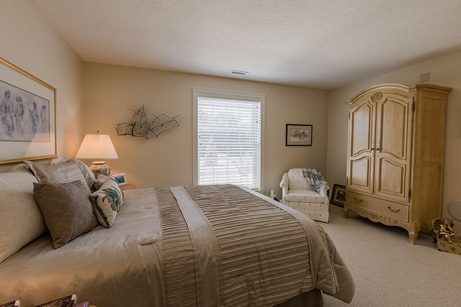 Over-sized bedroom