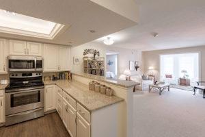 Apartment Open Kitchen