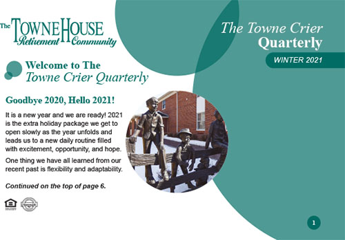 TowneHouseQuarterlyNews_Winter2021-cover